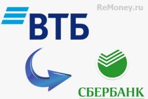 ВТБ Сбербанк