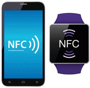 nfc в смартфоне и умных часах