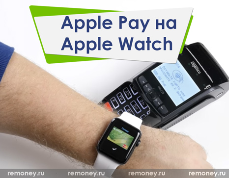 Оплата Apple Watch
