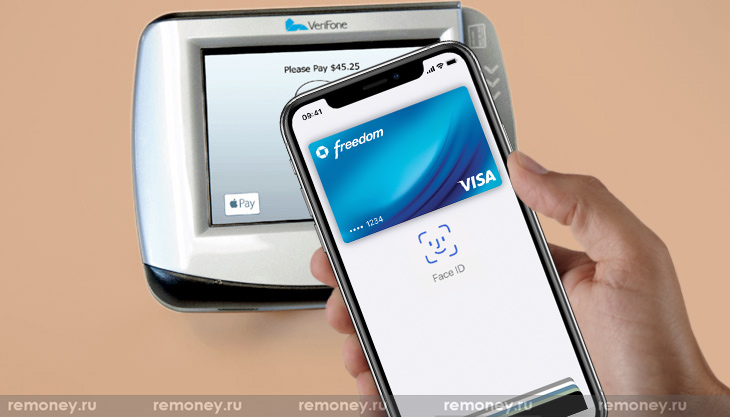 Apple Wallet на iPhone